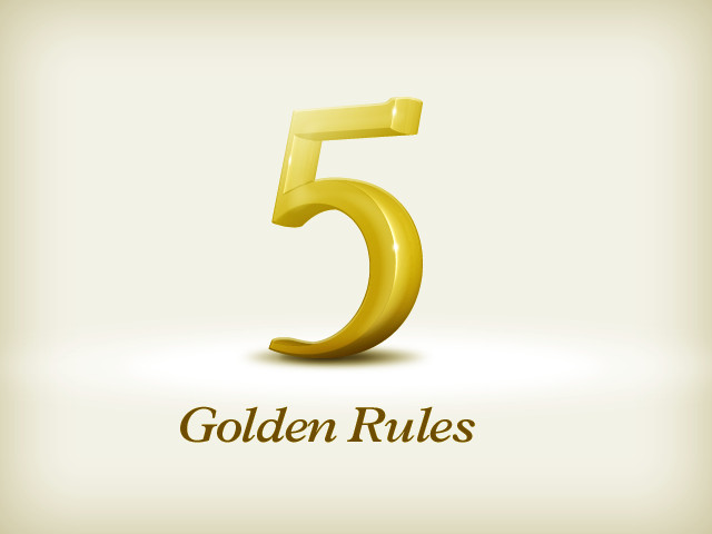 The 5 Golden Rules of Online Branding